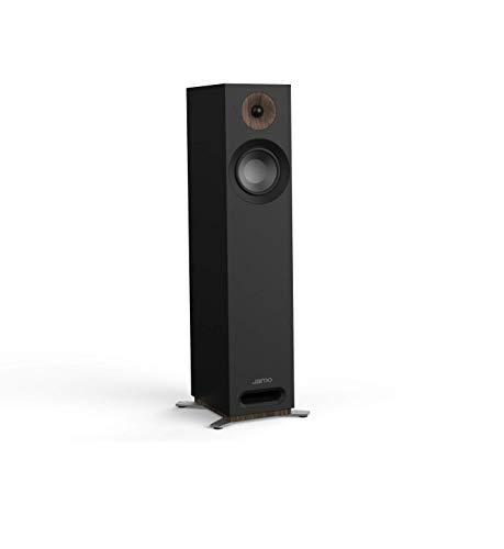 Jamo S 805 B PAR 160W Schwarz - Lautsprecher (2.0 Kanäle, Verkabelt, 160 W, 49-26000 Hz, 8 Ohm, Schwarz)