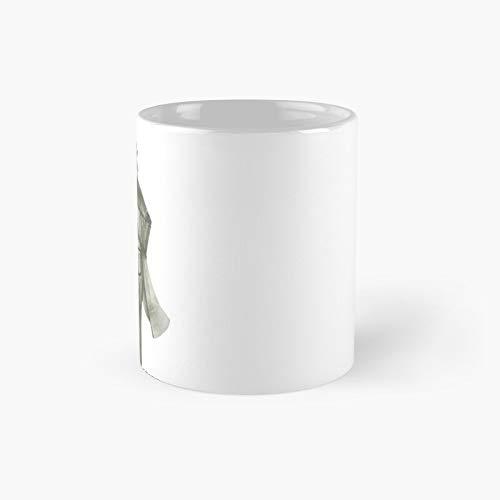 Taza clásica con diseño de perro Weimerana Off for A Walk | El mejor regalo divertidas tazas de café de 11 oz