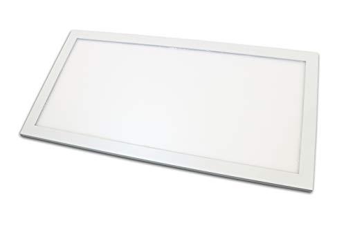 LED Panel 30x60cm wasserdicht IP65 Panel ceramicweiss Feuchtraum 24 Watt 4000K