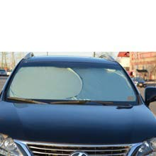 Car Windshield Sun Shade - Blocks UV Rays Sun Visor Protector, Sunshade To Keep Your Vehicle Cool And Damage Free, Easy To Use, Fits Windshields of Various Sizes