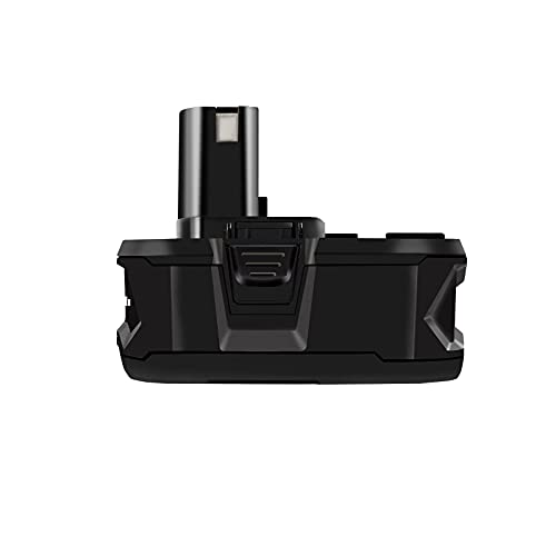 HWAZON Battery for Ryobi Power Tools, Battery Replacement for Ryobi, one+ (Plus),P104,P105,P102,P103,P107, P108,P109,P189,P192,P197,P190,18V, 5.0AH, Lithium-Ion,Fuel Gage