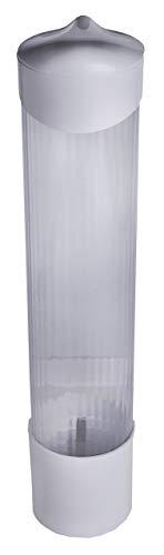 The Paper Cup Factory - Dispensador plástico de pared para vasos y conos de papel biodegradables