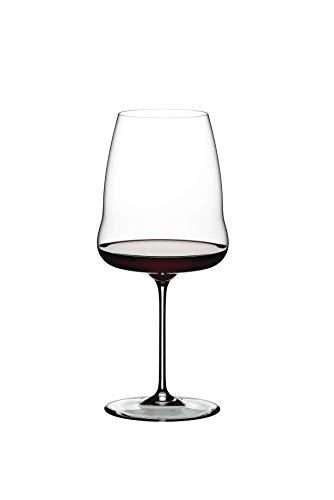 Riedel Winewings Syrah/Shiraz - Calice da vino con manico singolo, colore: Trasparente