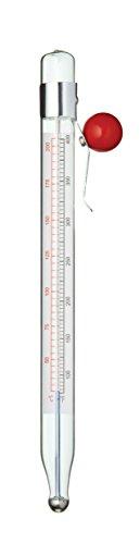 Kitchen Craft KCTHJAM Thermomètre à Confiture, Mélange de Plusieurs matériaux, Transparent,9 x 12 x 16 cm