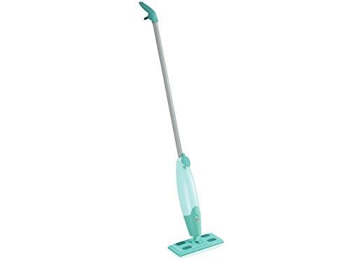Leifheit Sprühwischer Pico Spray S für die Bodenreinigung zwischendurch, Reinigung ohne Eimer durch Bodenwischer mit Sprühfunktion, Wischer mit Wassertank für schonendes Reinigen mit feinem Sprühnebel