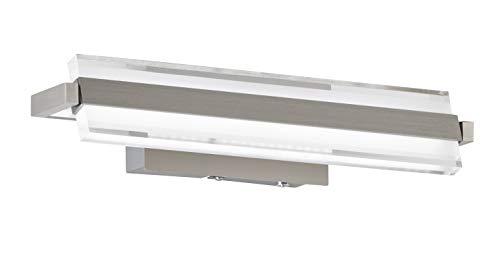 Preisvergleich Produktbild Fischer&Honsel PAROS Wandleuchte,  Metall,  8.5 W,  nickelfarben