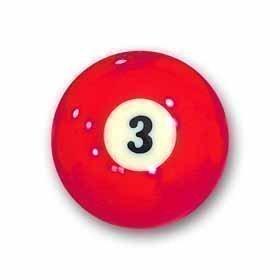 Billardkugel Nr.3 Pool-Ball