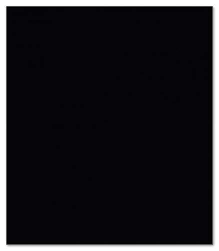 Wallario Herdabdeckplatte/Spritzschutz aus Glas, 1-teilig, 52x60cm, für Ceran- und Induktionsherde, Schwarz