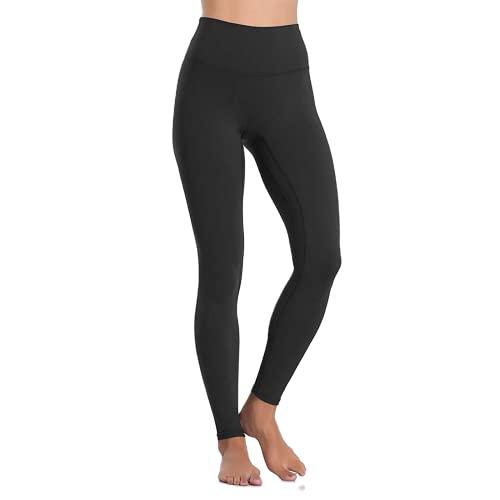 QTJY Leggings Deportivos de Color para Mujer, Pantalones de Yoga elásticos de Cintura Alta para Mujer, para Correr de Secado rápido, B XL