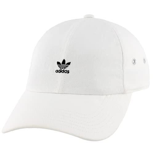 adidas Originals Sombrero de Gorra Ajustable Relajado con Logotipo Mini para Mujer