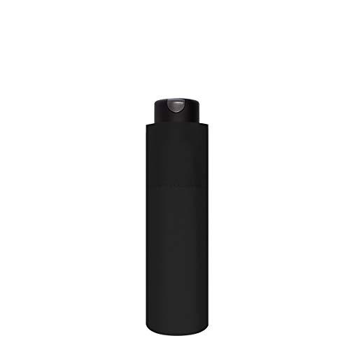 doppler Taschenschirm Carbonsteel Mini XS Black – Sehr kleines Format – Extrem stabil – 18 cm