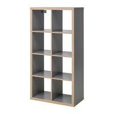 Regal Kallax grau/Holz Effekt 77x 147cm