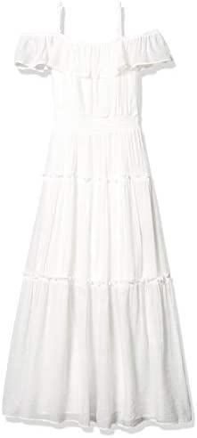 Amy Byer Girls Off The Shoulder Maxi Dress Off White 12 product image