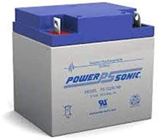 Replacement For Power Sonic Lectronic Kaddy Dyna-steer Golf Cart 28ah Agm Battery With Nb Terminals Battery