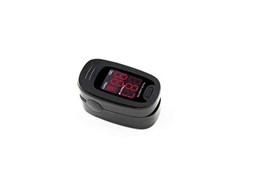 CONTEC Black CMS50M FingerTip Pulse Oximeter Blood Oxygen Meter SpO2 Heart Rate Monitor