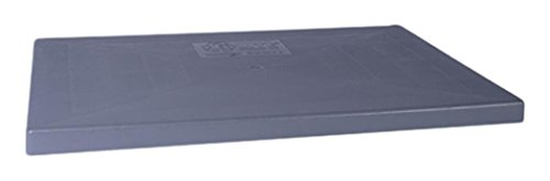 Diversitech E Lite Plastic Equipment Pad for HVAC Systems, 18' x 38' x 3', Gray (EL1838-3)