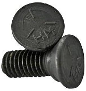 Quantity: 300 Clip Head inch Zinc CR+3 Grade 5 1//2-13x1 1//4 Plow Bolt