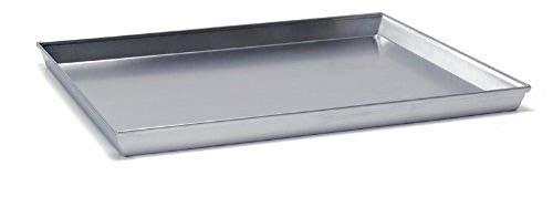 Ballarini 1001819 - Teglia Rettangolare, Alluminio, Argento, 45 x 35 cm