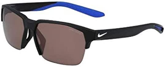 Nike CT3746-010 Maverick Free E Sunglasses Matte Black/White Frame Color, Course Tint Lens, 60/13/145