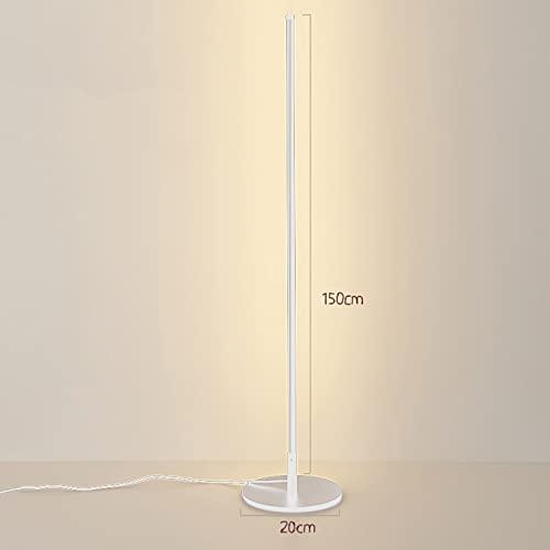 YAS Eking Lámpara Nordic RGB Aluminio LED Lámpara de pie Dormitorio Lámpara de noche Lámpara de pie moderna Lámpara de pie Colorida Iluminación interior Hogar Deco Floor Light