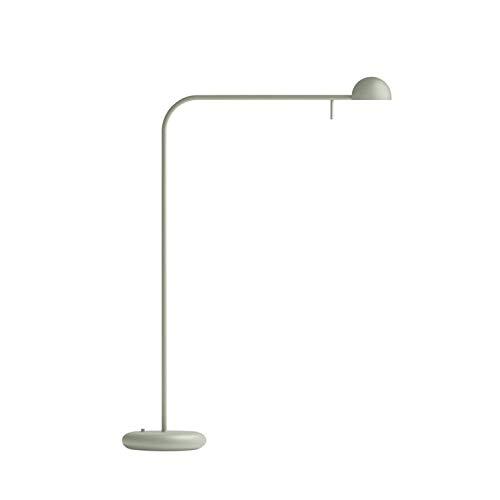 Ichiro Iwasaki - Lámpara de mesa LED de metal, 55 cm de altura, color verde mate