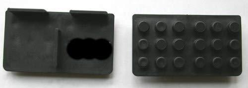 Plattenlager 20 Stück Randstücke Stelzlager 1 cm Auflage 3 mm