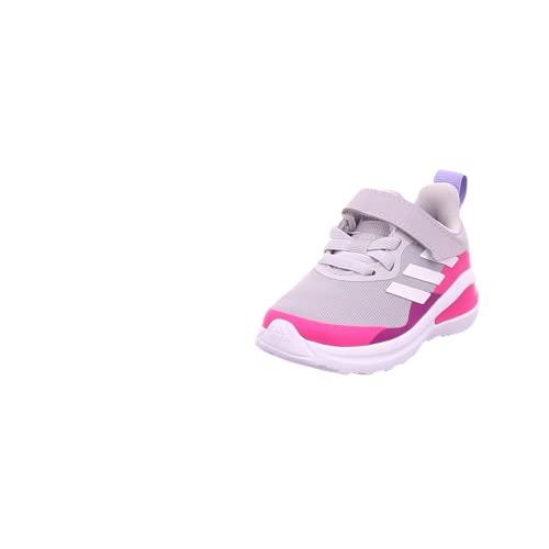 adidas Fortarun EL I, Zapatillas de Running, Gridos/FTWBLA/ROSSHO, 25.5 EU
