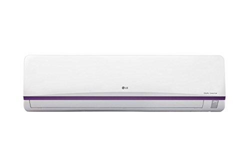 LG 1.5 Ton 3 Star Dual Inverter Split AC (Aluminium, JS-Q18BPXA, White) with standard installation at Rs 499*