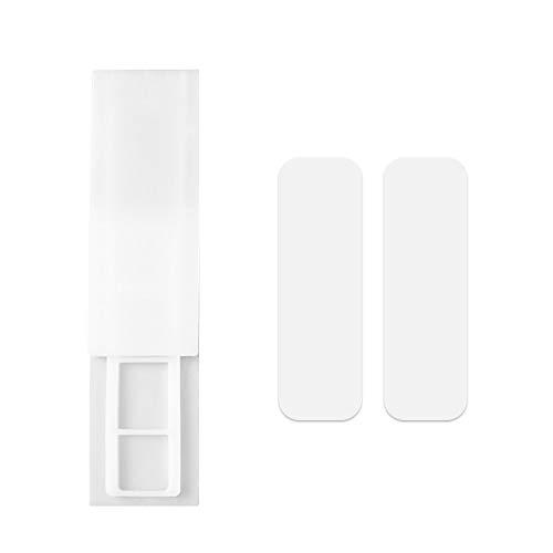 Andux 1 Piezas Soporte para Regleta de Enchufes Fijador de Enchufes para Enrutador y Caja de Pañuelos PCGDQ-01