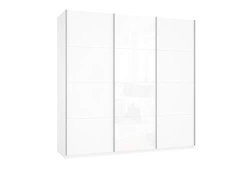 Prime 3030 Schwebetürenschrank mit kompletter Glasfront 210x190 cm