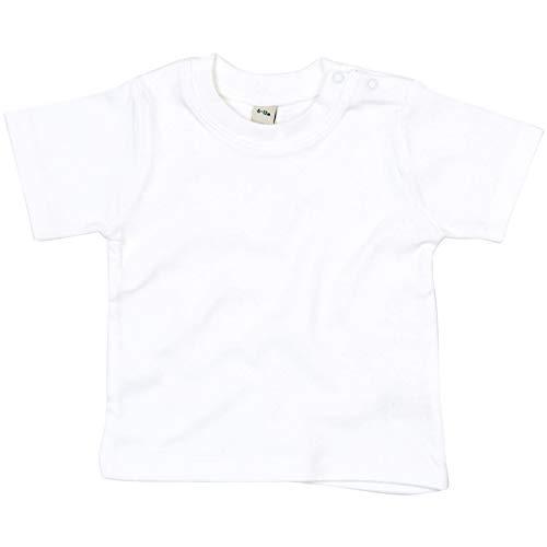 Babybugz Bebe T-Shirt Boys Girls Camiseta de Algodon Liso para ninos pequenos