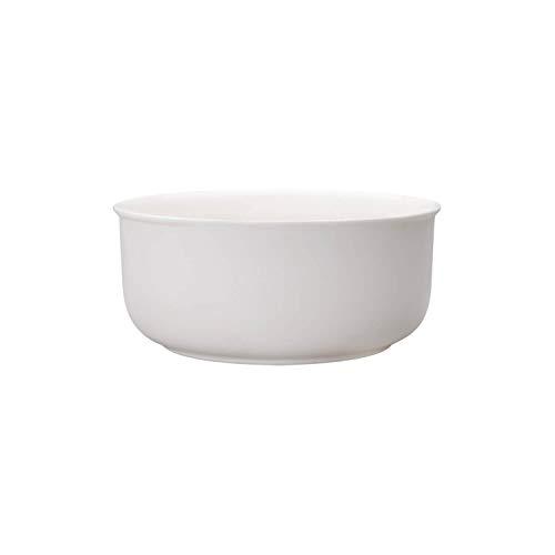 Villeroy & Boch Twist Salatschüsseln, Porzellan, Weiß,