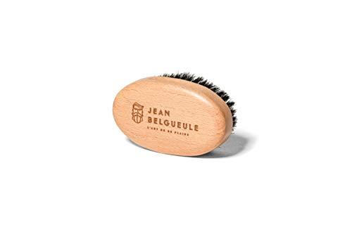 Brosse à Barbe Moustache en Poil de Sanglier et Bois d'Olivier de Haute Qualité – JEAN BELGUEULE