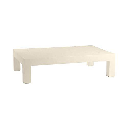 Vondom Jut Table Basse pour l'extérieur écru pour canapé