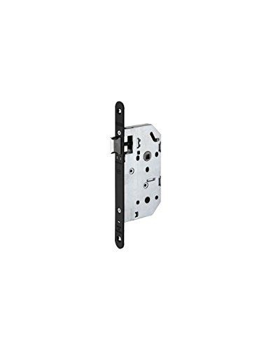 Cerradura para mechar negra reversible con fouillot llave I eje de 50mm Monomax Thirard