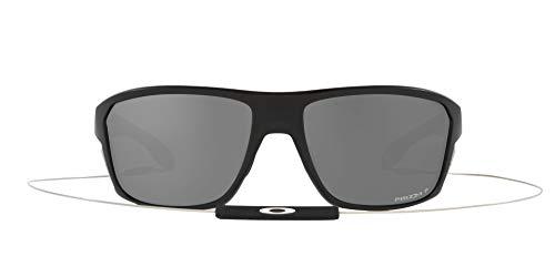 OO9416 Split Shot Sunglasses, Matte Black/Prizm Black Polarized, 64mm
