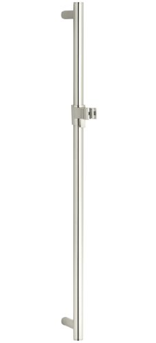 KOHLER K-8524-SN 30-Inch Slide Bar, Vibrant Polished Nickel