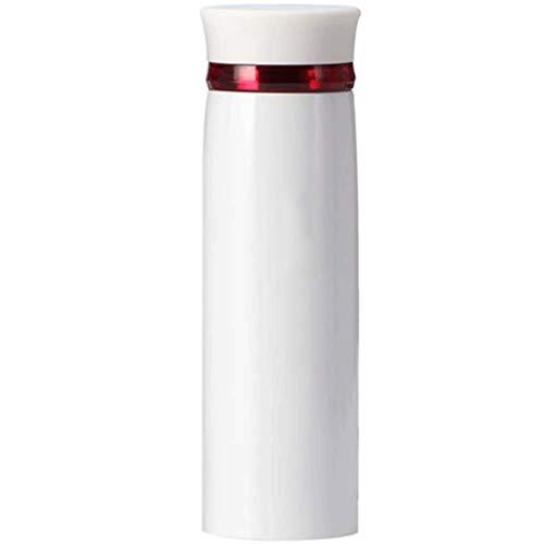 ZLDGYG Acero Inoxidable Botella Termo, Triple Pared con Aislamiento, café o té Caliente en frío, Ideal for la Oficina, Acampar y al Aire Libre