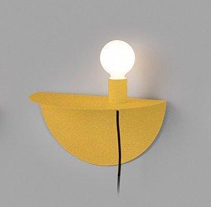 XCJJZ wandlamp binnen wandlamp nachtlampje slaapkamer gangpad gang plank decoratieve wandlamp geel omvat: wandlampen, wandlamp met leeslamp, wandlamp met stekker.