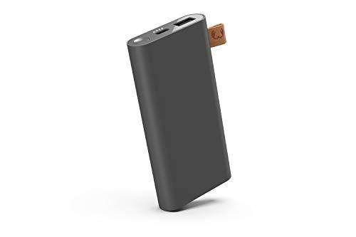 Fresh 'n Rebel Powerbank 3000 mAh USB-C | Draagbare oplader/externe accu - 2-poorts USB-C & USB, 6000 mAh, Storm Grey