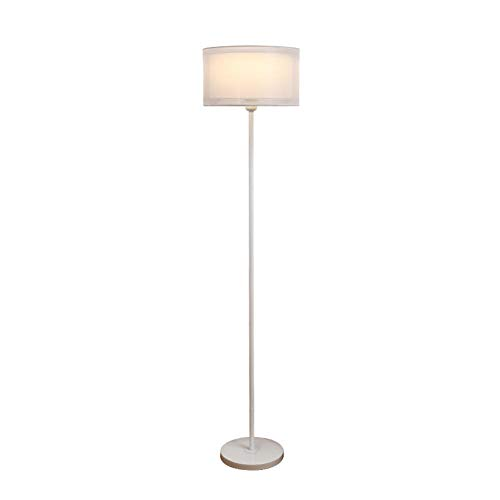MJLOMJ Lamparas de Pie LED Regulable Salon Diseño Moderno Lámpara de Pie de Esquina 3 Niveles de Ajuste de Brillo Decoración Hogareña, 150cm,D