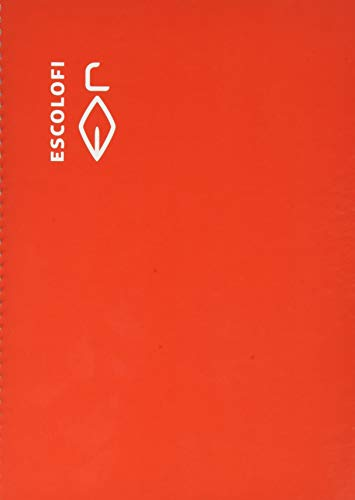 Escolofi - Cuaderno espiral cuarto 50 hojas 70 gramos montessori pauta 3,5 rojo