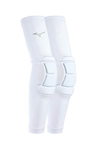Mizuno MZO Padded Sleeves, White, Large/X-Large