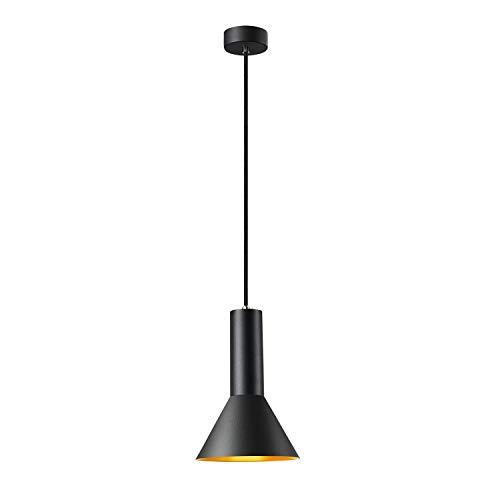 SLV Pendelleuchte PHELIA 175 E27 / Wohnzimmer-Lampe, Innen-Beleuchtung, Hänge-Leuchte Esszimmer, LED, Decken-Leuchte / E27 23.0W gold
