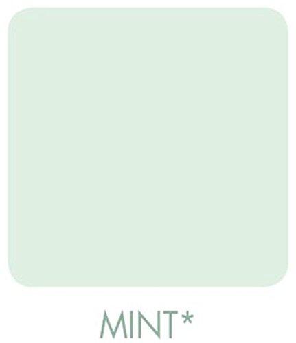 Signeo Bunte Wandfarbe, Mint, Mintgrün, Pastellgrün, matt, elegant-matte Oberflächen, Innenfarbe, 1 Liter