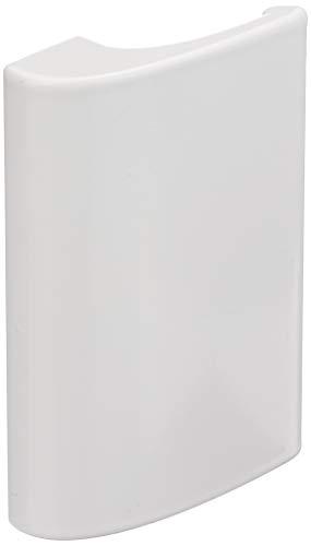 Balkongriff Ziehgriff Terrassentürgriff Deluxe - Aluminium - verschiedene Farben (Weiß)