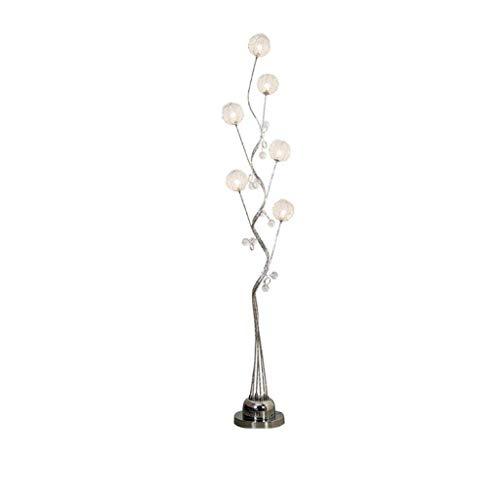 Aocean Lámpara de pie Creativa, lámpara de pie de Bola acrílica y Tejida a Mano, lámpara de árbol de múltiples Cabezas para el Dormitorio de la Sala de Estar