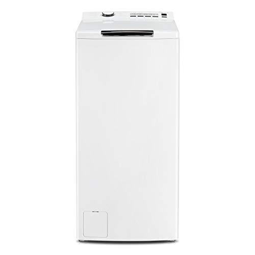 Midea Toplader Waschmaschine TW 3.62 / 6,5 KG Fassungsvermögen / Energieeffizienzklasse A+++ / Reload - Nachlegefunktion / 1200 U/min / Soft Opener