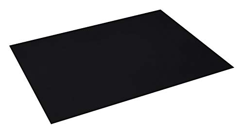 Pack 25 Cartulinas Color Negro Tamaño 50X65 180g