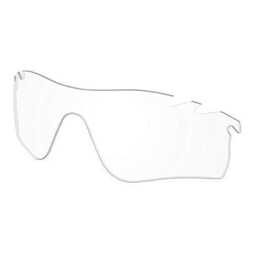 Lenzen Vervanging voor Oakley RadarLock Pad Geventileerd Zonneglas - Crystal Clear